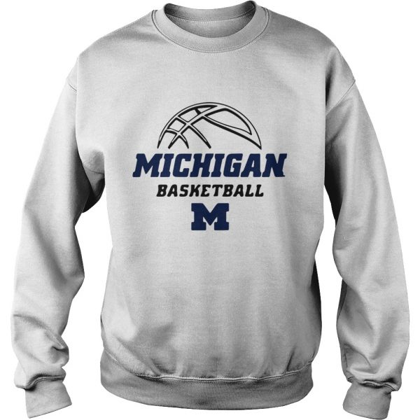 University of Michigan Basketball 20192020 Schedule  Sweatshirt
