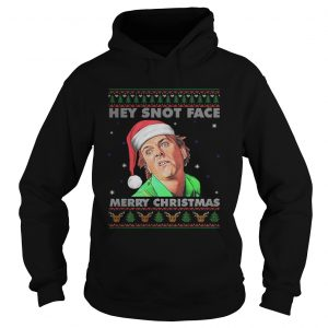 Drop Dead Fred Hey Snot Face Merry Christmas Ugly  Hoodie