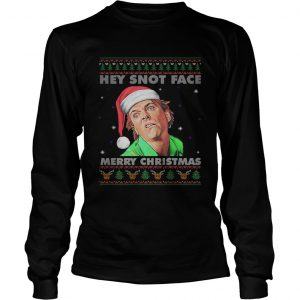Drop Dead Fred Hey Snot Face Merry Christmas Ugly  LongSleeve