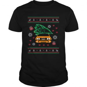 General Lee Car Christmas Tree Ugly Christmas  Unisex