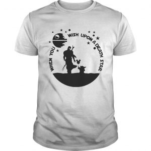 Baby Yoda The Mandalorian When you wish upon a death star  Unisex