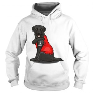 Labrador Retriever Basse Tattoos I Love Mom  Hoodie