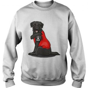 Labrador Retriever Basse Tattoos I Love Mom  Sweatshirt