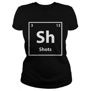 Periodic table for drunks shots  Classic Ladies