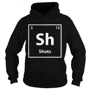 Periodic table for drunks shots  Hoodie