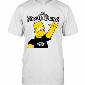 The Simpson Five Finger Death Punch T-Shirt Classic Men's T-shirt