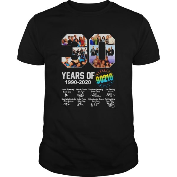 Beverly Hills 90210 Tv Series 30th Years Of 19902020 Signature  Unisex