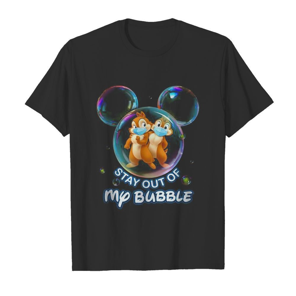 Stay out of my bubble Mickey mouse  Classic Men's T-shirt