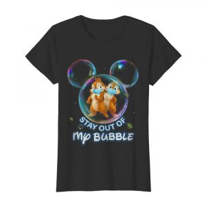Stay out of my bubble Mickey mouse  Classic Women's T-shirt