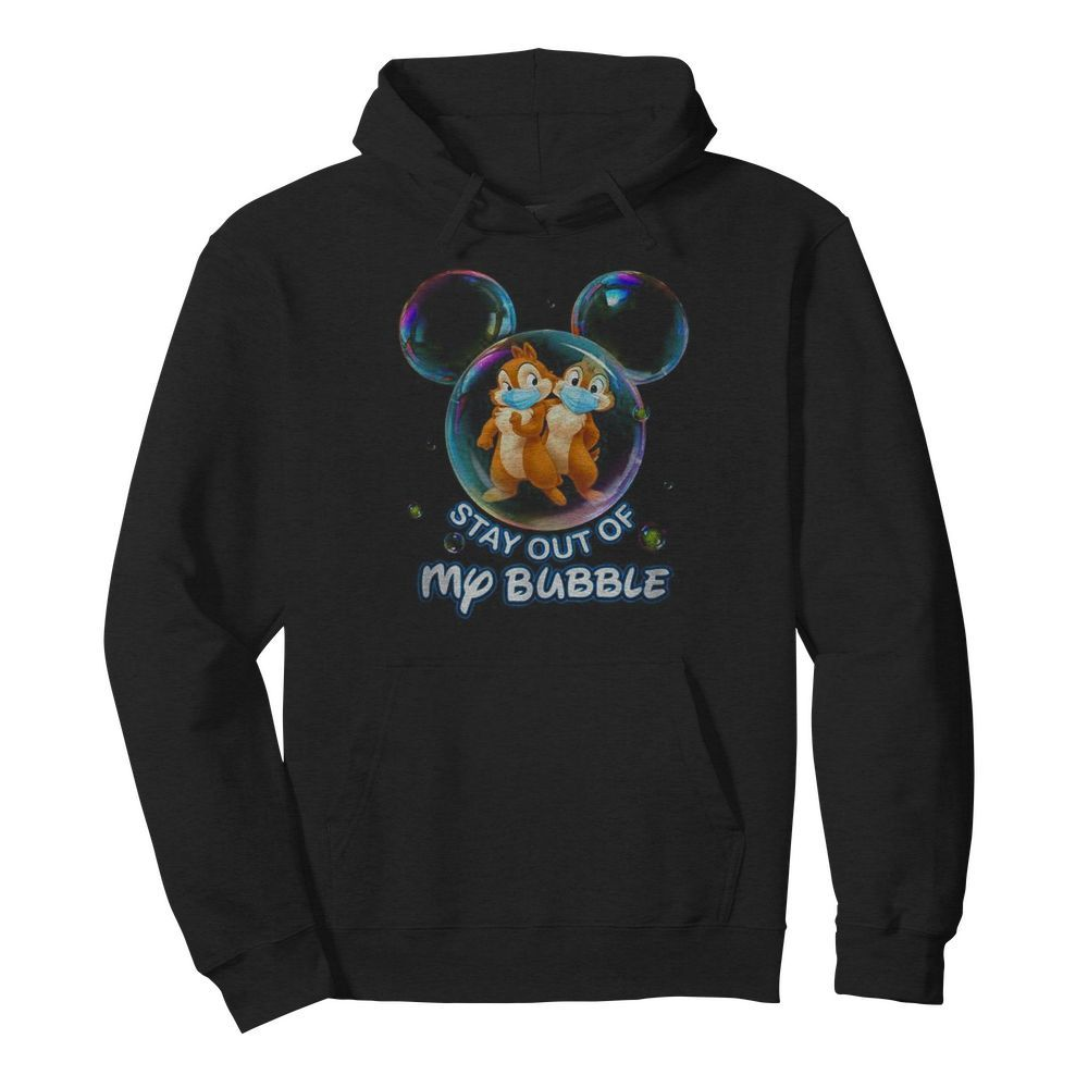 Stay out of my bubble Mickey mouse  Unisex Hoodie