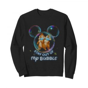 Stay out of my bubble Mickey mouse  Unisex Sweatshirt