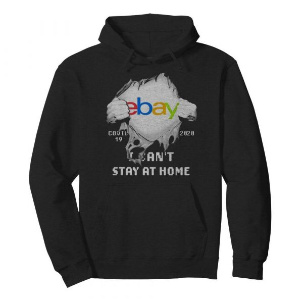 Blood Inside Me EBay COVID-19 2020 I Can't Stay At Home  Unisex Hoodie