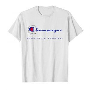 Champagne Breakfast Of Champions  Classic Men's T-shirt
