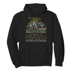 The Athletics 120th Anniversary 1901 2021 Thank You For The Memories Signatures  Unisex Hoodie