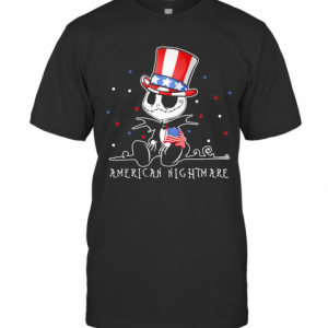 Jack Skellington American Nightmare 4Th Of July Independence Day T-Shirt Classic Men's T-shirt