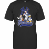 Mickey Mouse Pluto Donald Duck New York Yankees T-Shirt Classic Men's T-shirt
