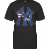 New England Patriots Inside New York Yankees T-Shirt Classic Men's T-shirt
