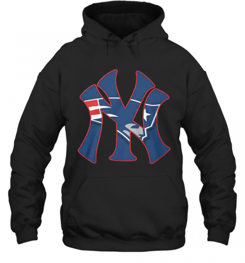 New England Patriots Inside New York Yankees T-Shirt Unisex Hoodie