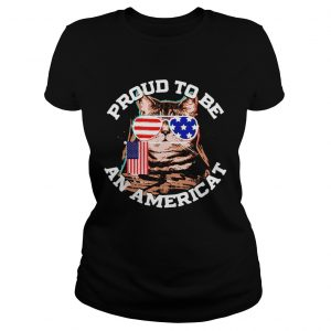 Proud To Be An Americat Happy Independence Day  Classic Ladies
