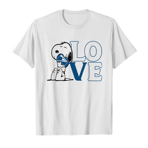 Snoopy hug heart love united states postal service  Classic Men's T-shirt
