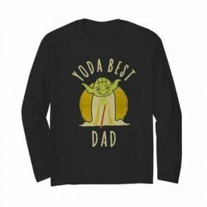 Star wars master yoda best dad father's day vintage retro  Long Sleeved T-shirt
