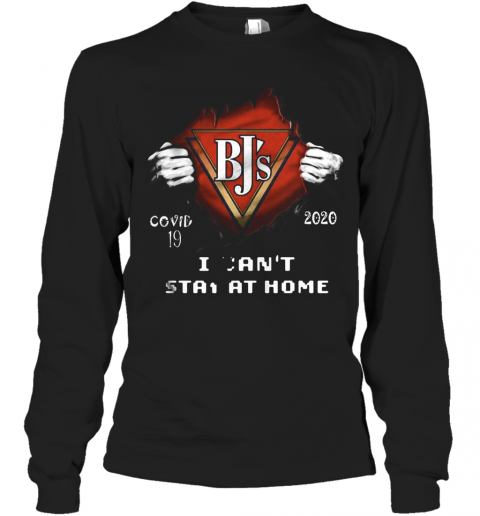 Blood Insides Bj'S Covid 19 2020 I Can'T Stay At Home T-Shirt Long Sleeved T-shirt