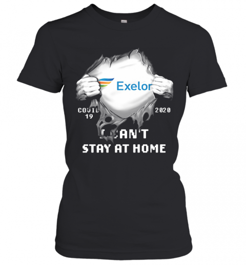 Blood Insides Exelon Covid 19 2020 I Can'T Stay At Home T-Shirt Classic Women's T-shirt