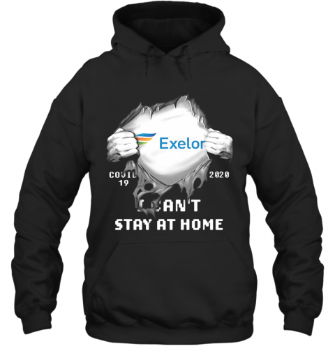 Blood Insides Exelon Covid 19 2020 I Can'T Stay At Home T-Shirt Unisex Hoodie