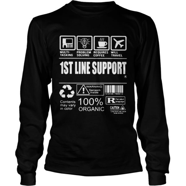 1St Line Support  Long Sleeve