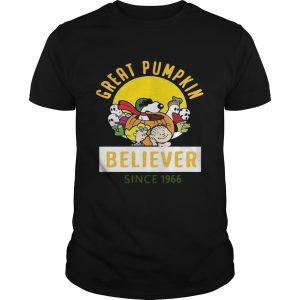 Great Pumpkin Believer Sine 1966  Unisex