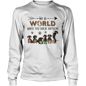In A World Where You Can Be Anything Be Kind  Long Sleeve