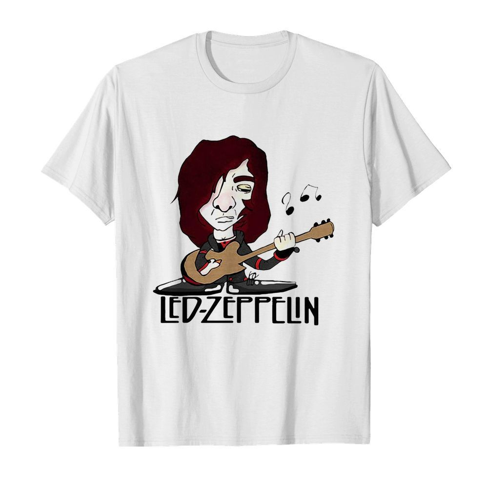 Led zeppelin band playing guitar  Classic Men's T-shirt