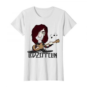 Led zeppelin band playing guitar  Classic Women's T-shirt