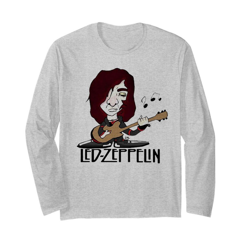 Led zeppelin band playing guitar  Long Sleeved T-shirt