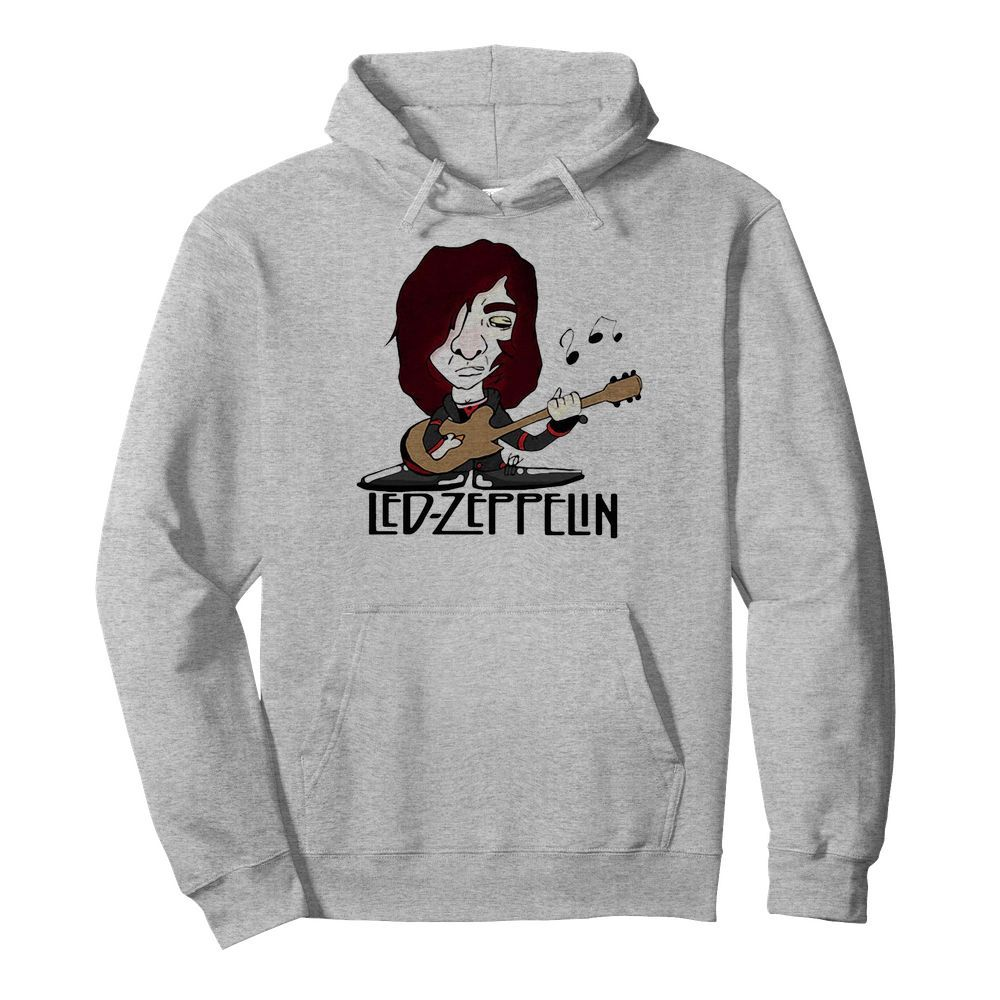 Led zeppelin band playing guitar  Unisex Hoodie