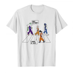 Dragon Ball Abbey Road What Happened I Forgot My Mask  Classic Men's T-shirt