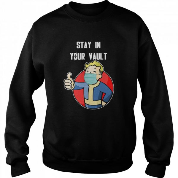 Stay In Your Vault Fallout Boy  Unisex Sweatshirt