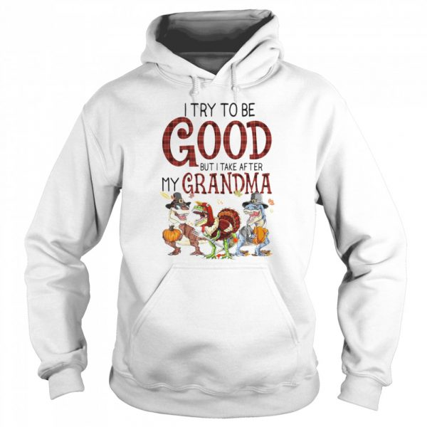 I Try To Be Good But I Take After My Grandma  Unisex Hoodie