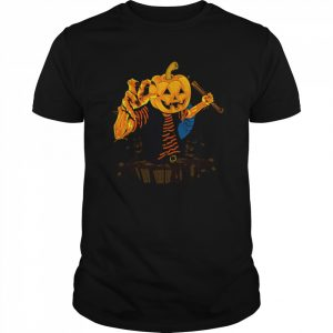 Zombie Man Halloween Day  Classic Men's T-shirt