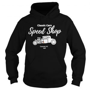 Classic Cars Speed Shop  Hoodie