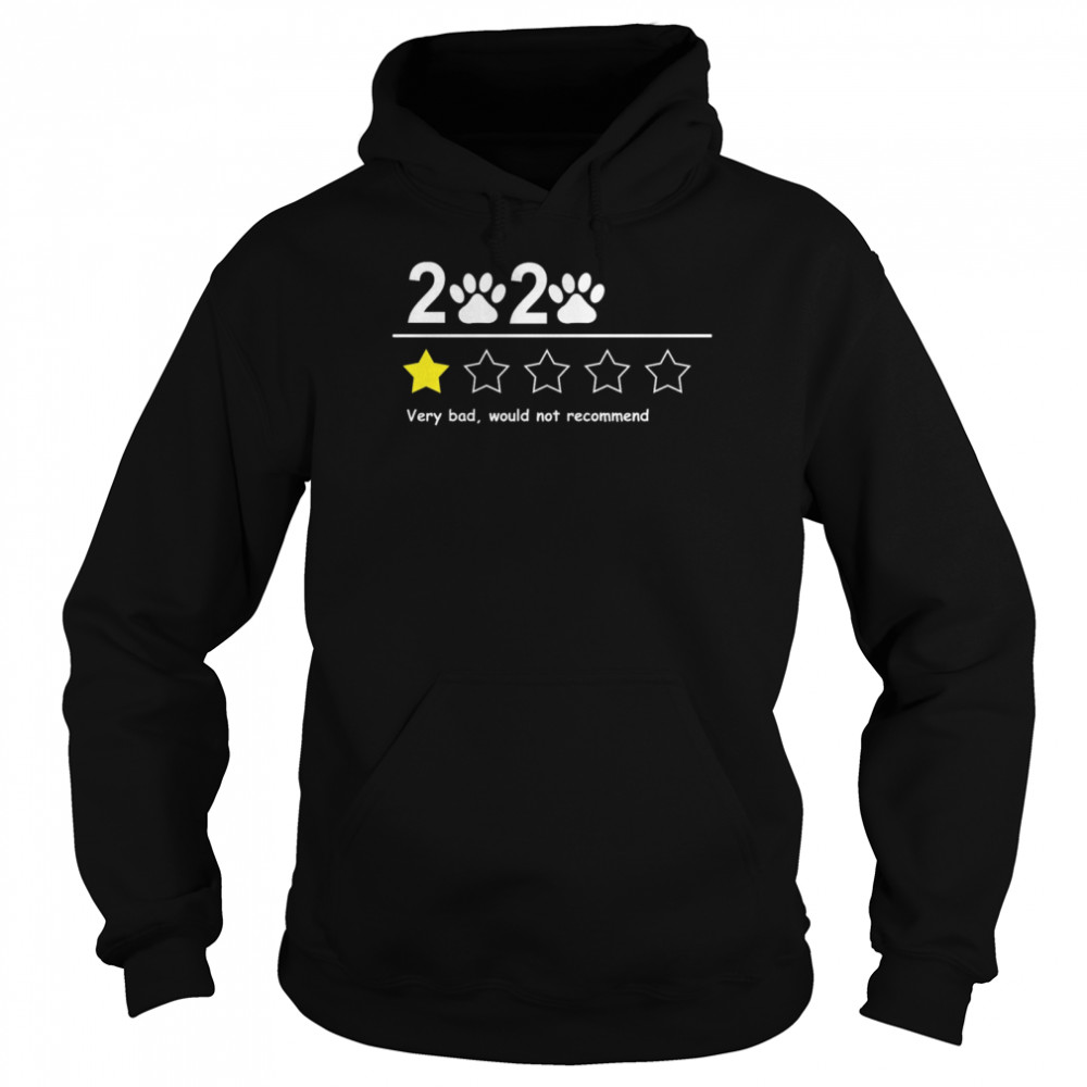 2020 very bad would not recommend  Unisex Hoodie