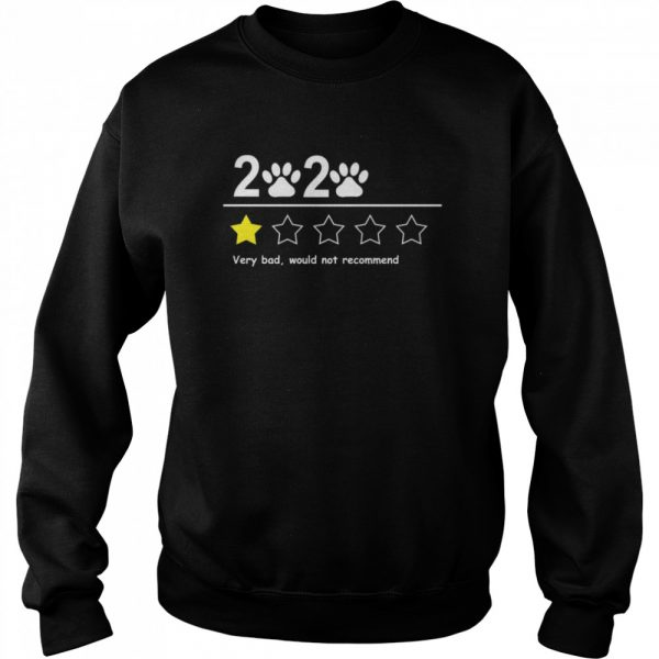 2020 very bad would not recommend  Unisex Sweatshirt