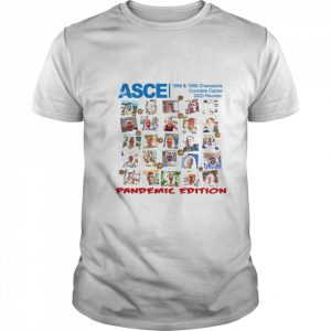 Asce 2020 Concrete Canoe Champions Reunion Pandemic Edition  Classic Men's T-shirt