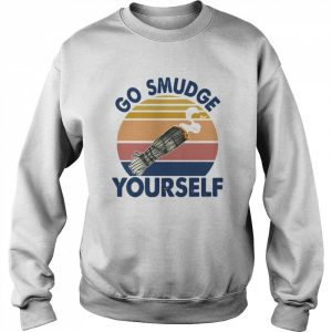 Go Smudge Yourself Vintage Sage Bundle Smoking Gift Bella Canvas  Unisex Sweatshirt