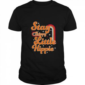 Stay Trippy Little Hippie  Classic Men's T-shirt