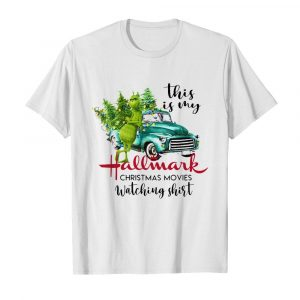 The Grinch This Is My Hallmark Christmas Movies Watching  Classic Men's T-shirt