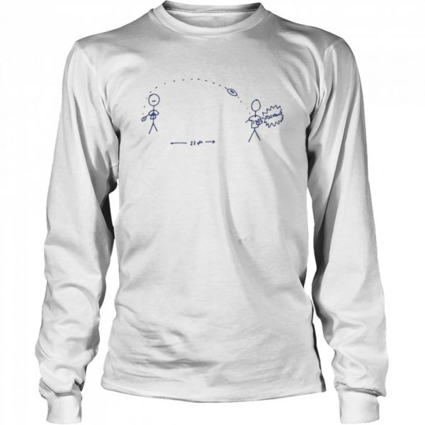 Allen Diggs Touchdown  Long Sleeved T-shirt