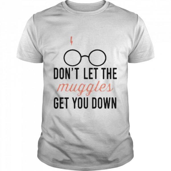 Don't let the muggles get you down mug  Classic Men's T-shirt