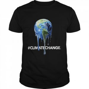 Legendary themed melting earth climate change  Classic Men's T-shirt